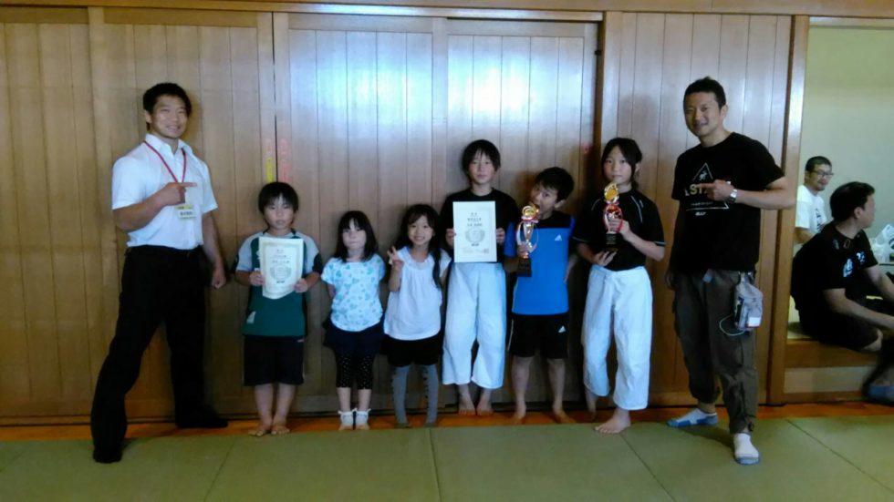総合格闘技|心技舘主催キッズ格闘技大会写真