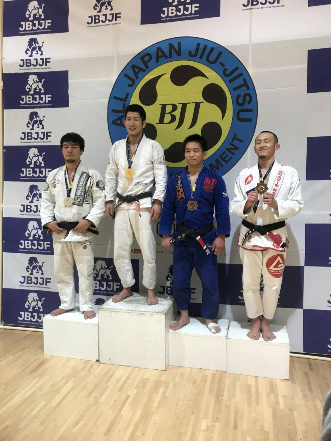 日本ブラジリアン柔術連盟|F第6回 全日本ブラジリアン柔術オープントーナメント2018大会写真
