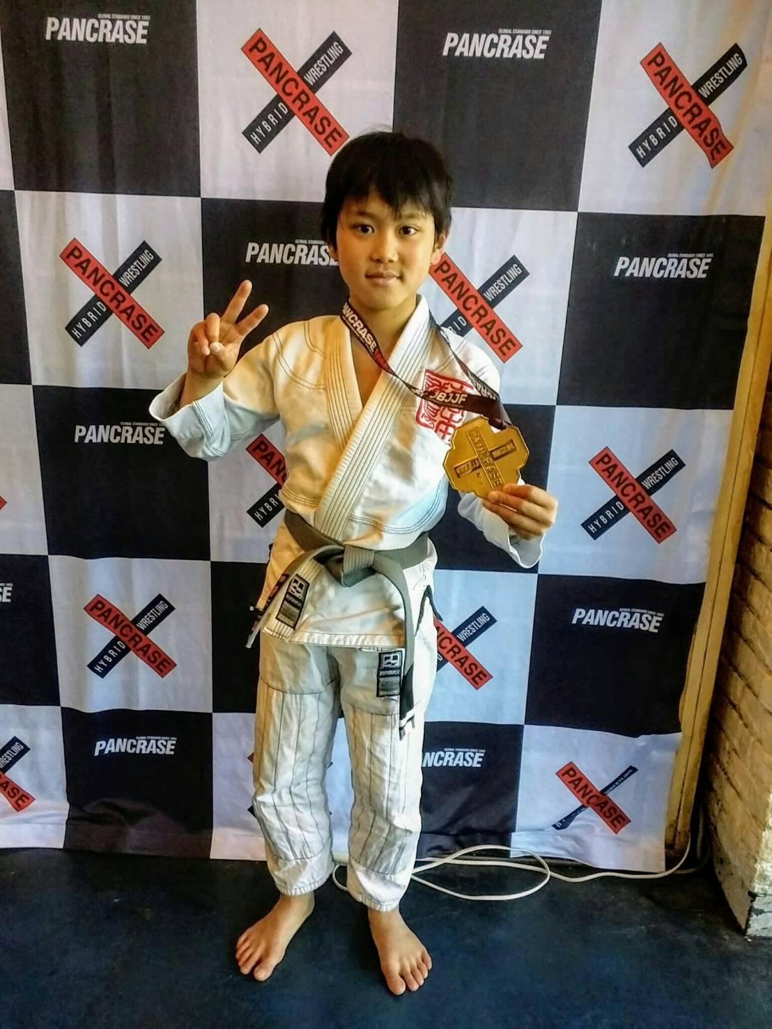日本ブラジリアン柔術連盟|PANCRASE KIDS JIU-JITSU OPEN TOURNAMENT大会写真01