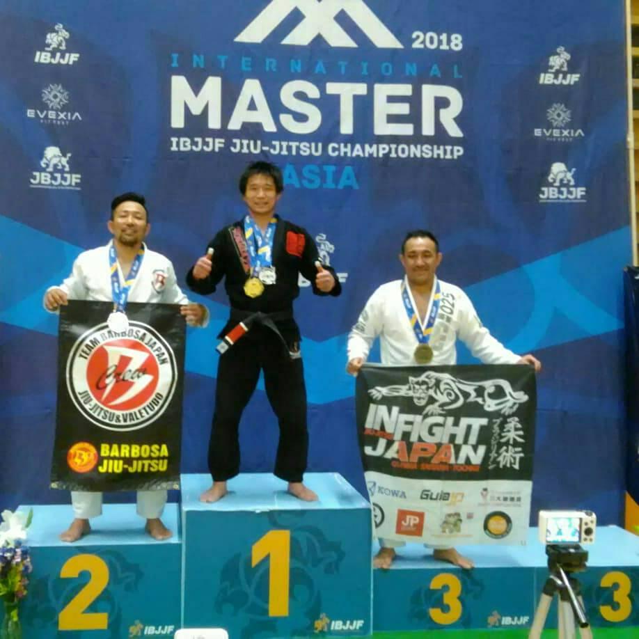 日本ブラジリアン柔術連盟|Master International Jiu-Jitsu Championship – Asia 2018|大会写真01