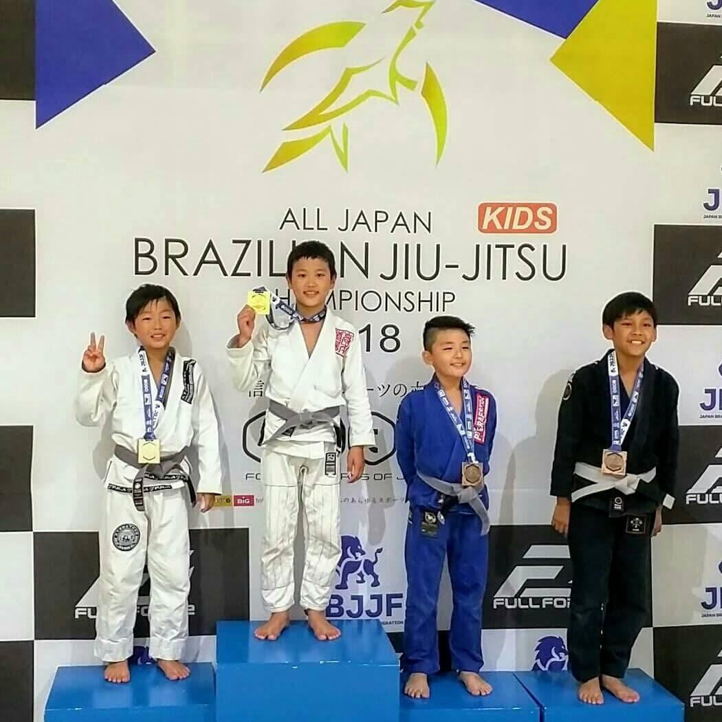 日本ブラジリアン柔術連盟|第12回全日本キッズ柔術選手権|大会写真01