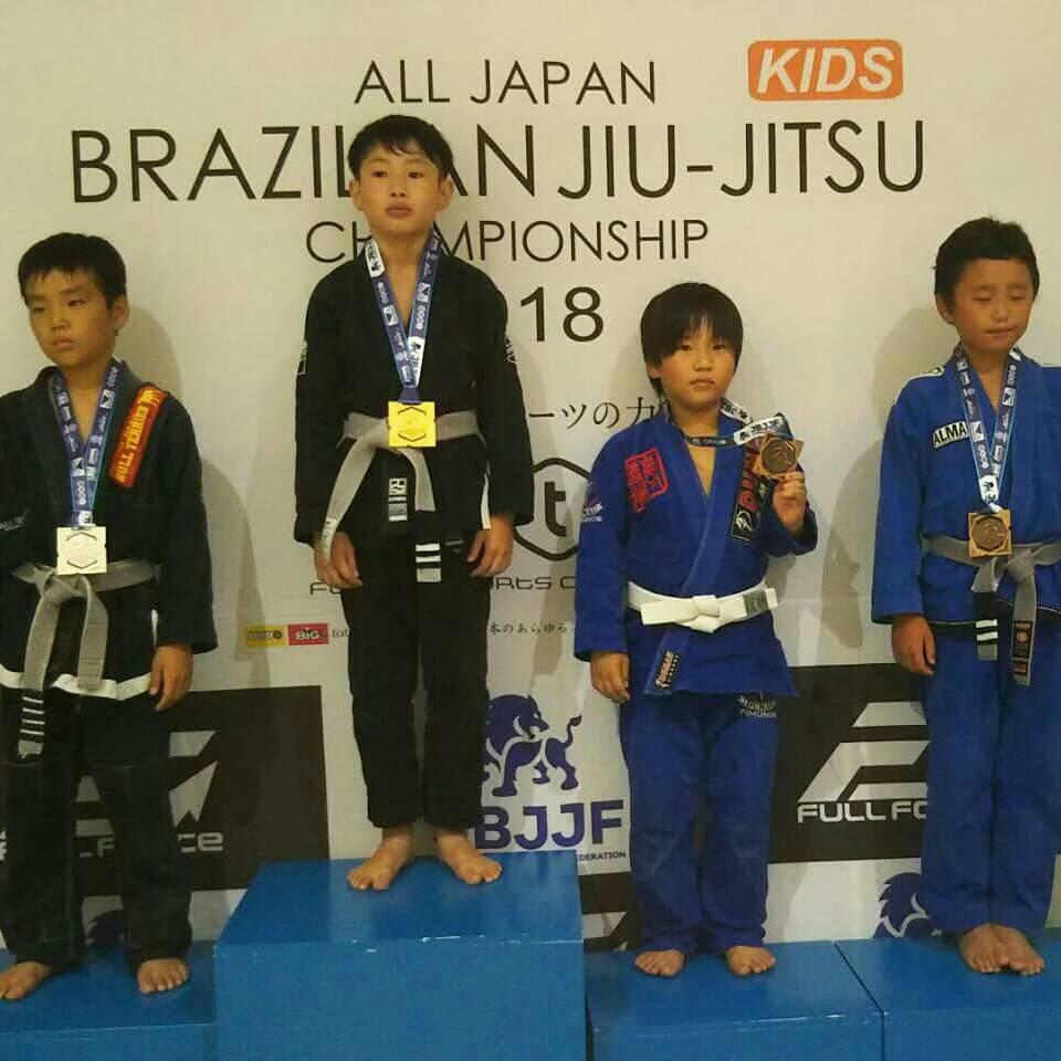 日本ブラジリアン柔術連盟|第12回全日本キッズ柔術選手権|大会写真02