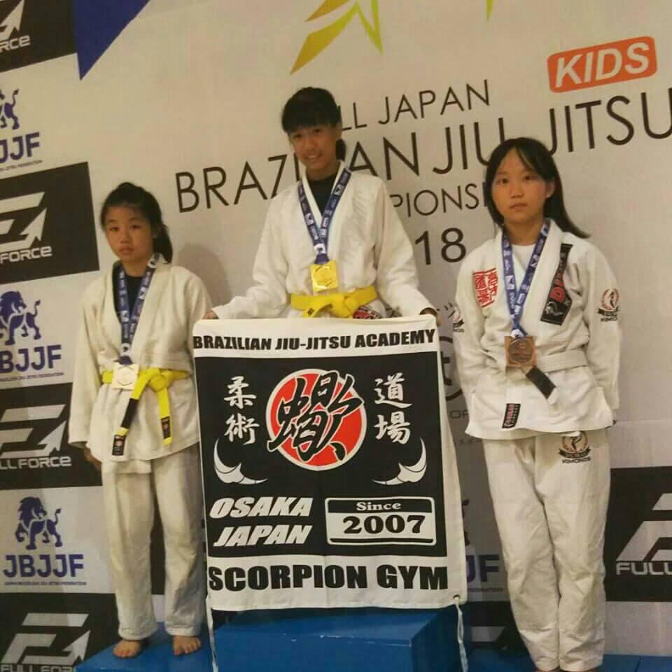 日本ブラジリアン柔術連盟|第12回全日本キッズ柔術選手権|大会写真03