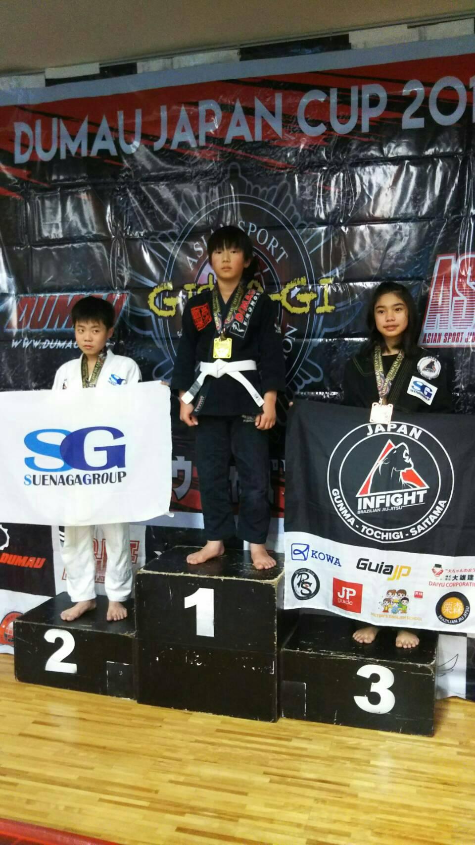 アジアスポーツ柔術連合 DUMAU JAPAN CUP 2018キッズ|大会写真01
