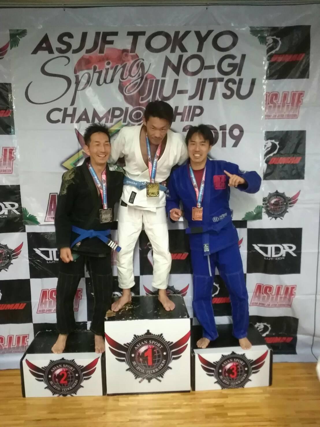 アジアスポーツ柔術連盟 柔術選手権 2019 春|大会写真01